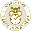 Duplicable City Center Build-time Investment Icon, labor investment icon, labour icon, building time needs, time investment, build times, time to build, earthbag build time investment, straw bale build times, eco build times, sustainable build times, green building, labour evaluation, labour investment, labour input, labor requirements, labor input, time for building