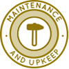 Duplicable City Center Maintenance and Upkeep Icon, maintenance, care, upkeep, City Center maintenance, City Center care, Duplicable City Center maintenance, straw bale maintenance, straw bale village care, cob maintenance, cob care, long-term maintenance, short-term maintenance, earthship maintenance and care, treehouse maintenance
