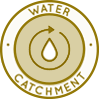 Duplicable City Center Water Catchment Icon, water conservation methods, advantages of rainwater harvesting, rainwater harvesting techniques, open source water systems, methods of rainwater harvesting, smart water, intelligent water use, swails, One Community, solution based thinking, conserve water, water conservation, water wise, saving water, best land for water, mulch, water catchment, water collection, swails, water collecting, vermiculture, conserving water