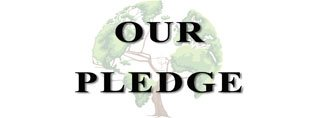 One Community pledge header, One Community pledge, Highest Good pledge