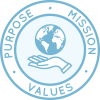 One Community Purpose, Mission, Vision, and Values Page