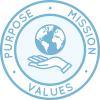 Страница Цель Одна Община, Миссия, Взгляд и Ценностей