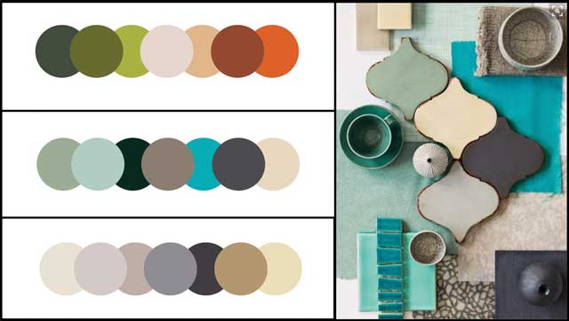 Brianna Johnson (Interior Designer), also began exploring color templates and materials for the Straw Bale Village (Pod 2). Here are examples of what we ultimately settled on.