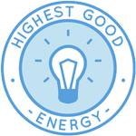 Highest Good energy, green energy, off the grid living, eco-living, going green, sustainable energy