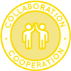 cooperating, living cooperatively, collaborative living, collaboration, working together, helping each other, global family, coming together, seeking agreement, team work