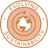 evolving sustainability, negative-waste living