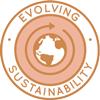 evolving sustainability, negative-waste living