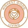 Highest Good Living icon, Highest Good Lifestyle Considerations, Materials, Cleaning Supplies, Lifestyle Practices, Toiletries, Technology, Hardware