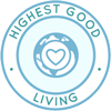 Highest Good Living icon for Highest Good Society page, Highest Good Lifestyle Considerations Page, Highest Good Materials, Highest Good Cleaning Supplies, Highest Good Lifestyle Practices, Highest Good Toiletries, Highest Good Technology, Highest Good Hardware, One Community, Highest Good Society