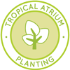 Tropical Atrium Planting Icon, One Community Tropical Atrium, greenhouse, eco-greenhouse, Highest Good food, tropical greenhouse, indoor growing, sustainable food, Earthbag Village, One Community, sustainable community, green living, One Community Global