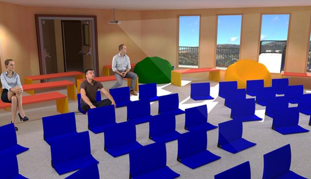 City Center Cupola Classroom, One Community