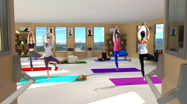 City Center Cupola Yoga, One Community
