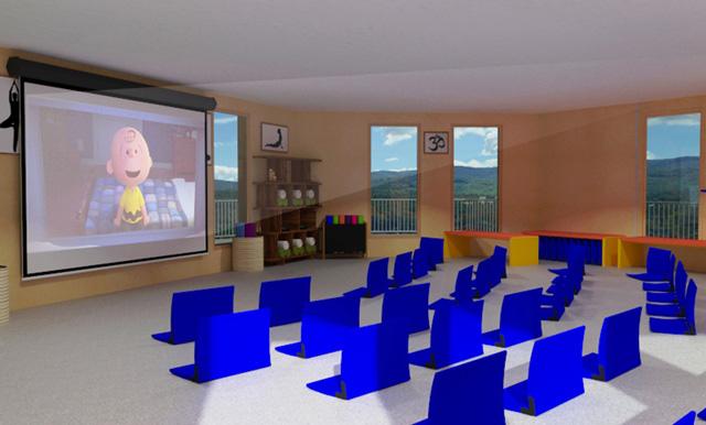 City Center Cupola Multi Media room, One Community